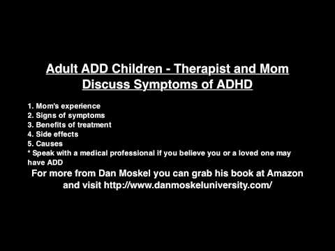 add adult signs of symptoms
