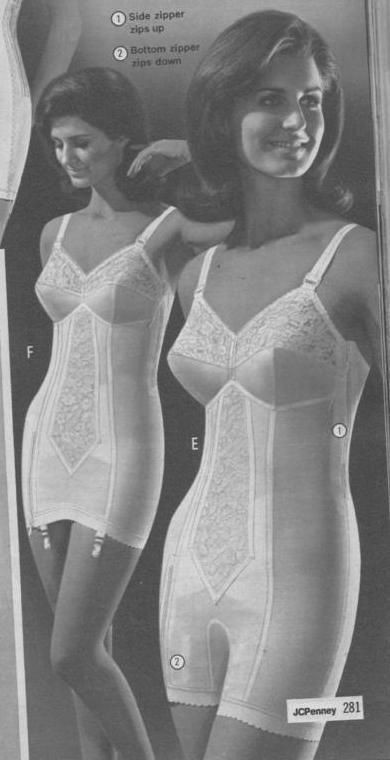 vintage lingerie in one all