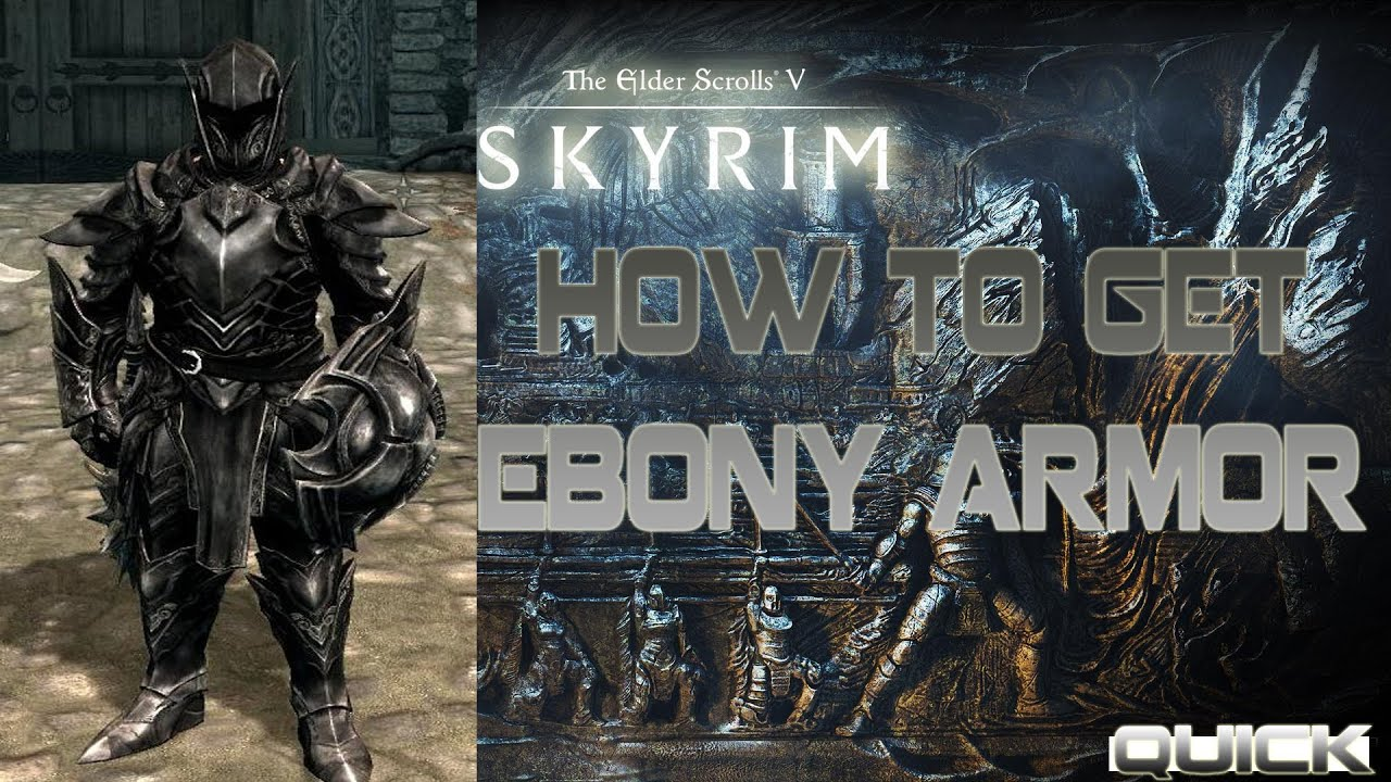 find to where armor ebony