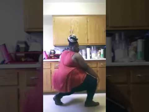 dancing black fat girl