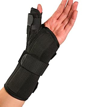 wrist supports and thumb