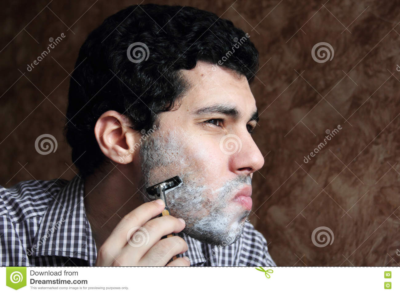 young shaved arab