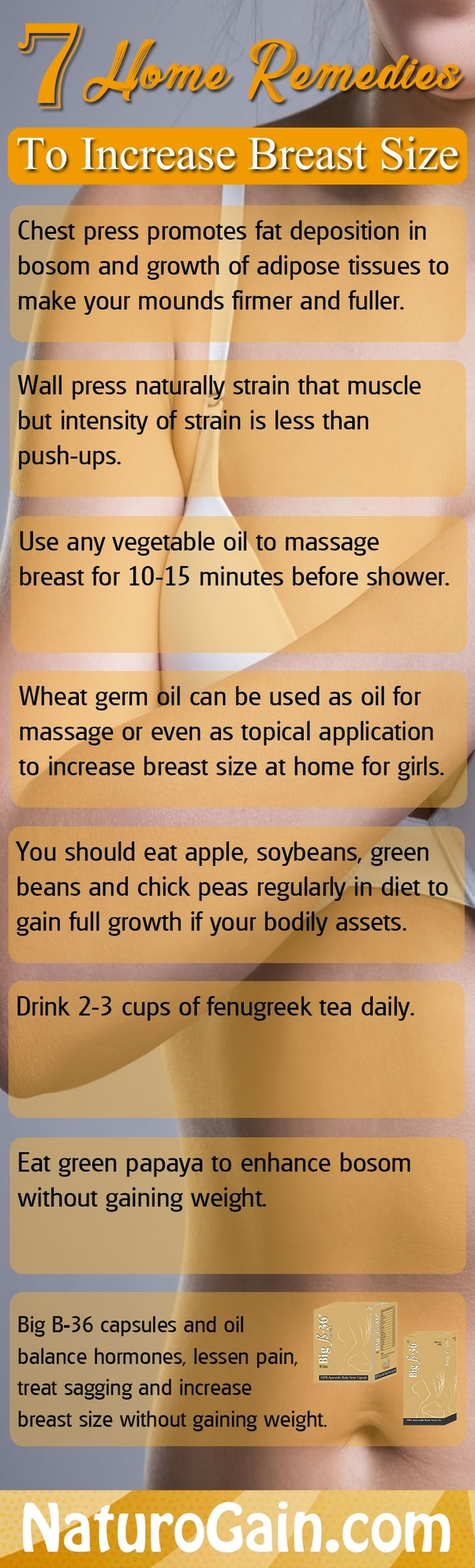 breast home increase remedies to