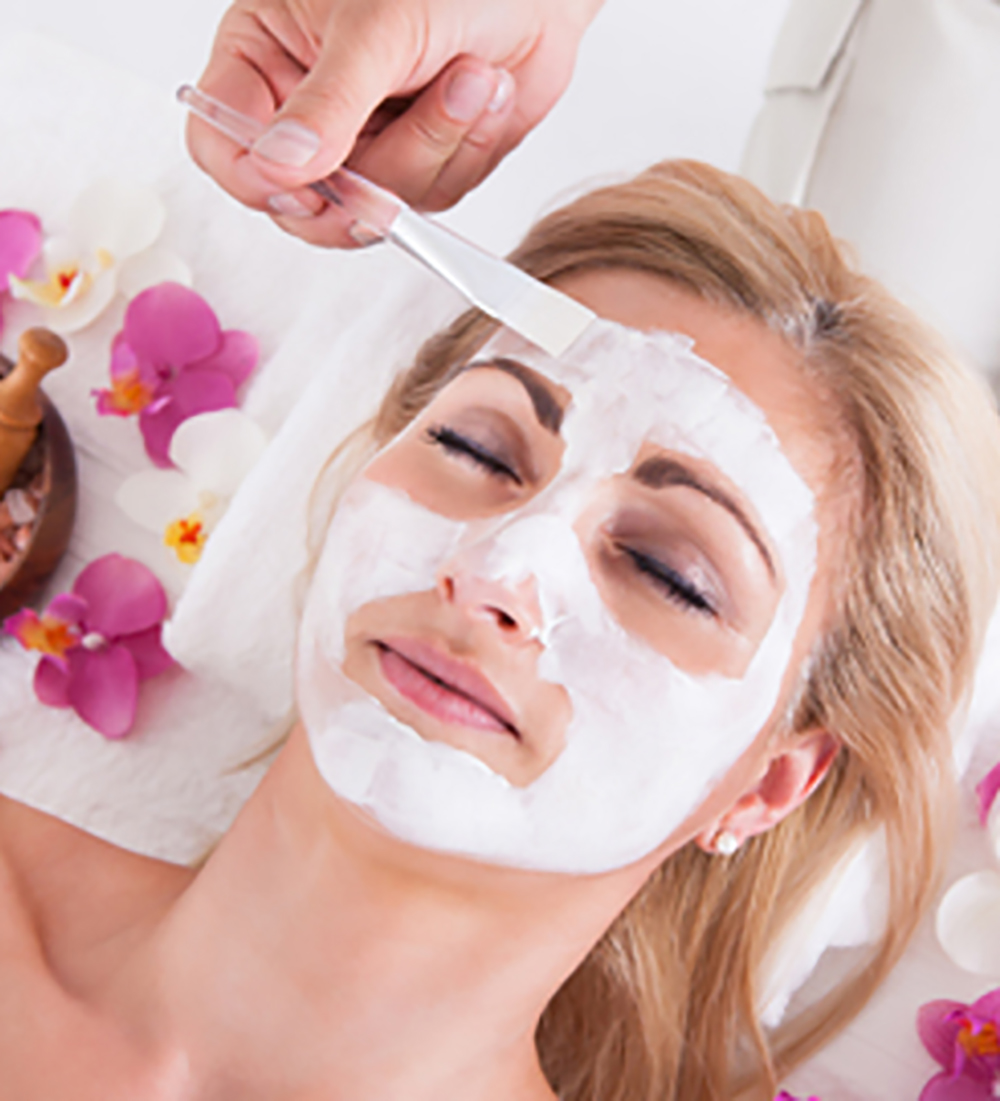 facial beauty on