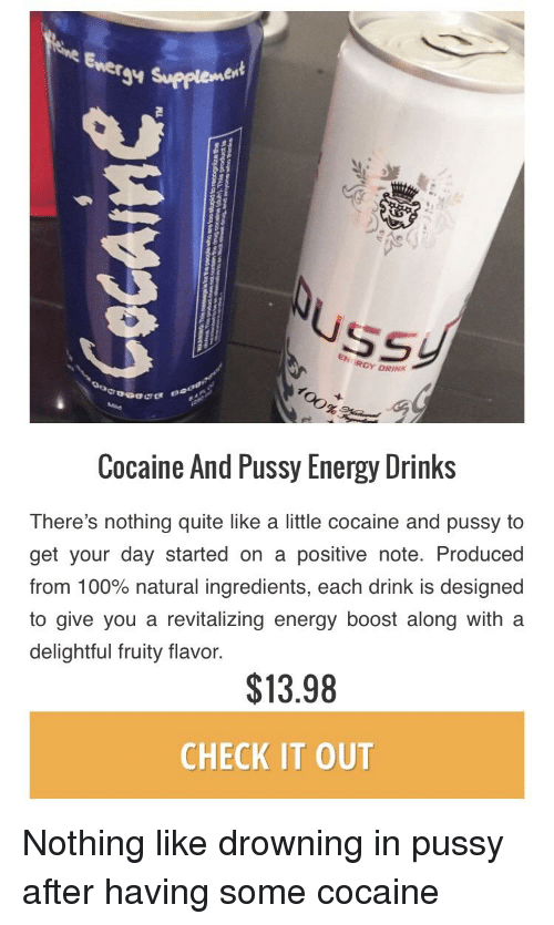 favourite drink pussy