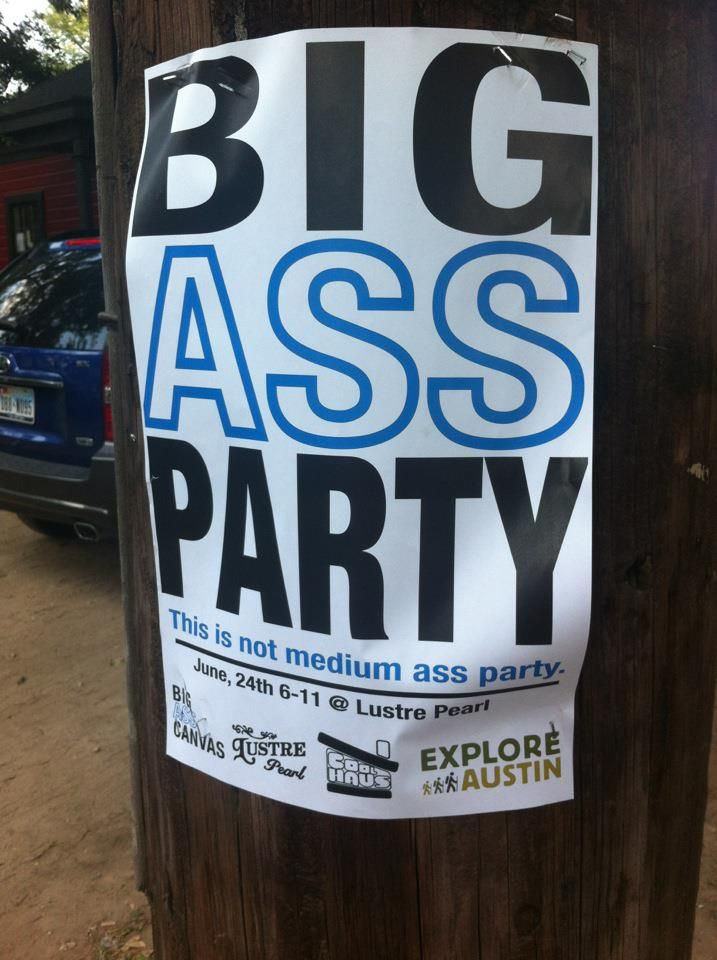 the big ass party