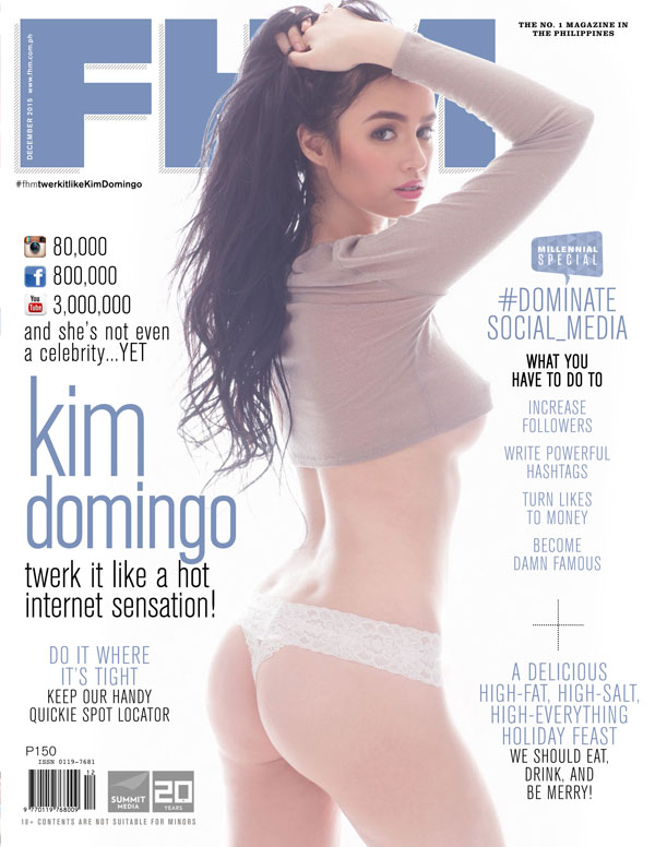 kim domingo fhm photo