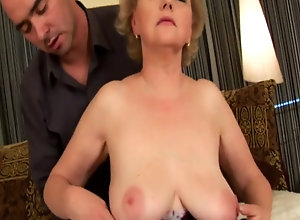 busty riding tube mature