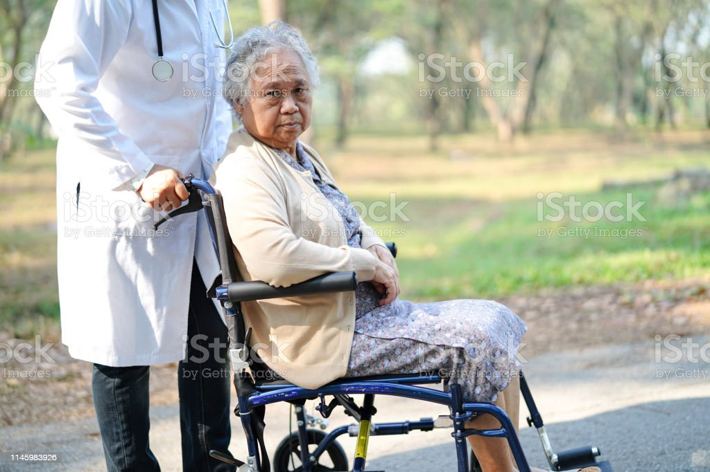the asian care elderly of