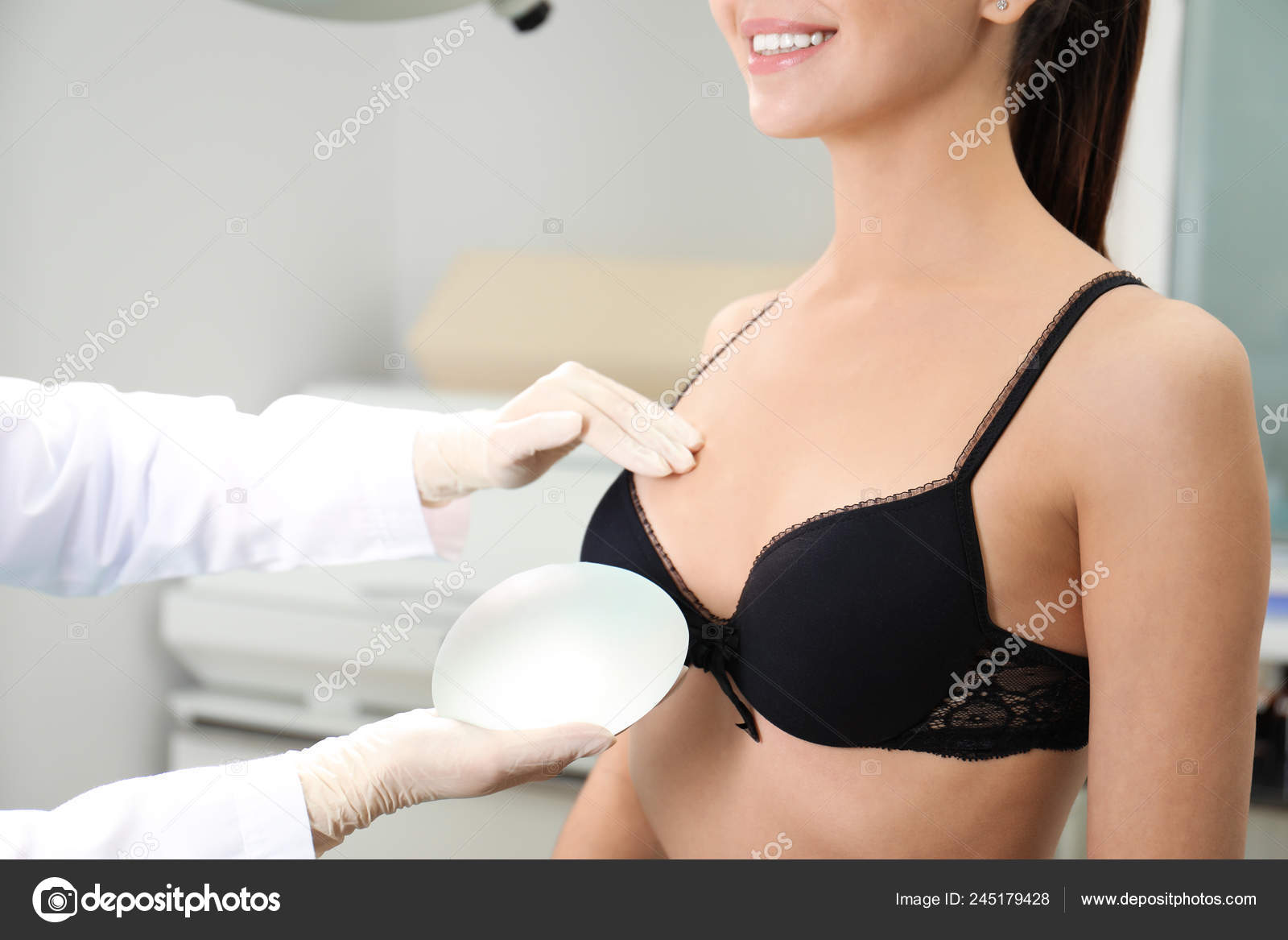 cosmetic implant breast