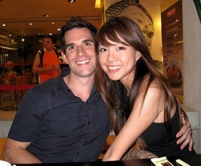 white and man asian
