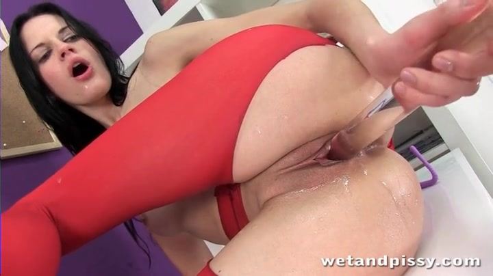 dildo giant insertions anal