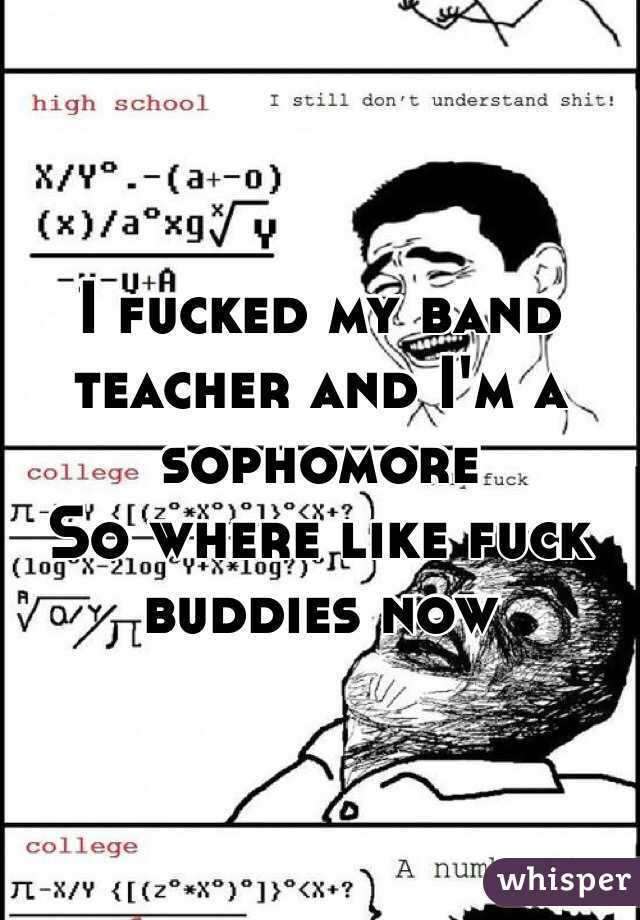 band gets fucked teacher
