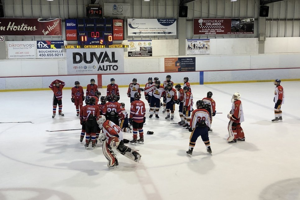 association charlesbourg hockey mineur