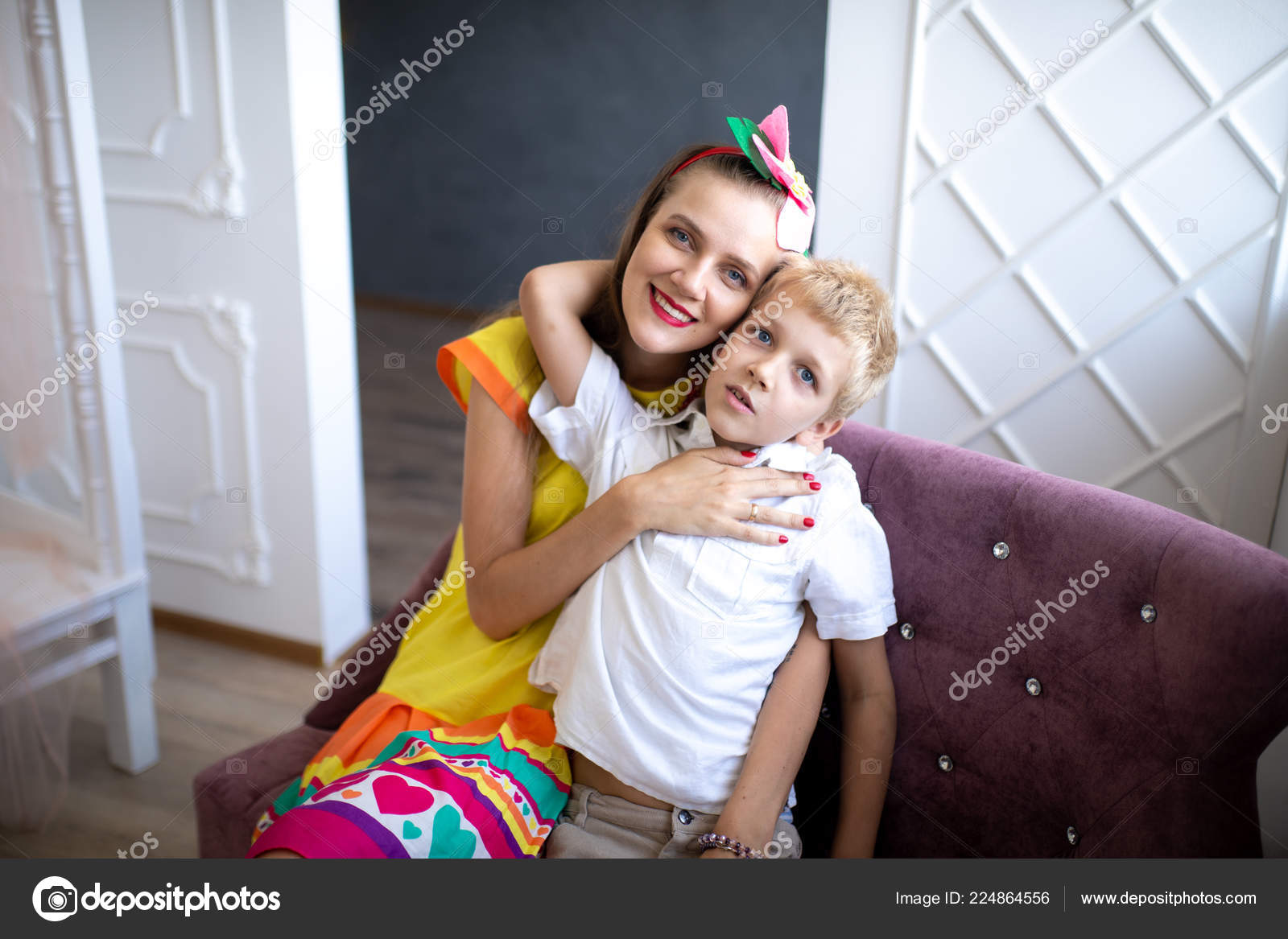 son and vid mom