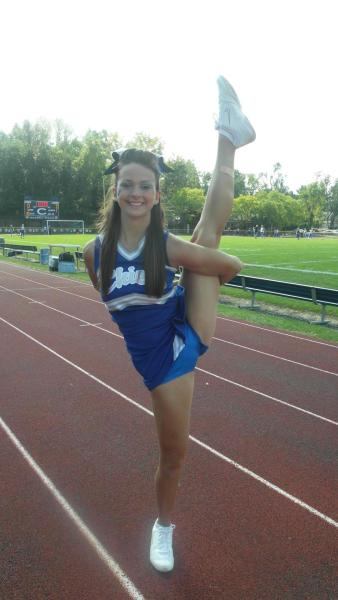 tumblr teen cheerleader