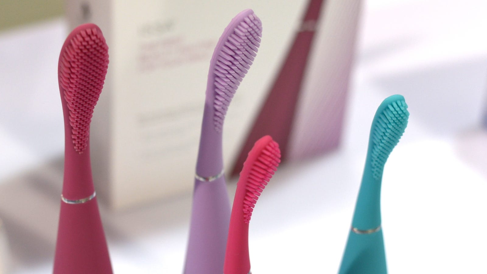 vibrator using toothbrush a sonicare as