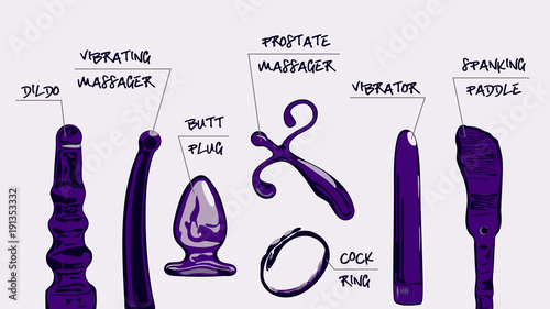 different kinds of dildos