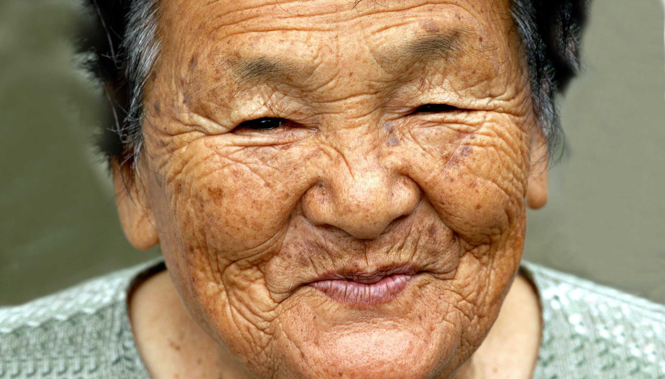 woman japanese old