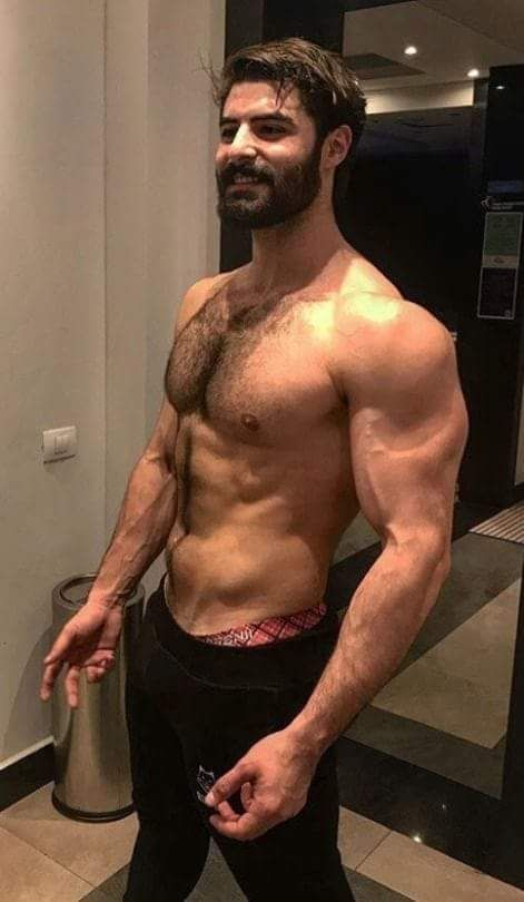 hairy foreign hunks