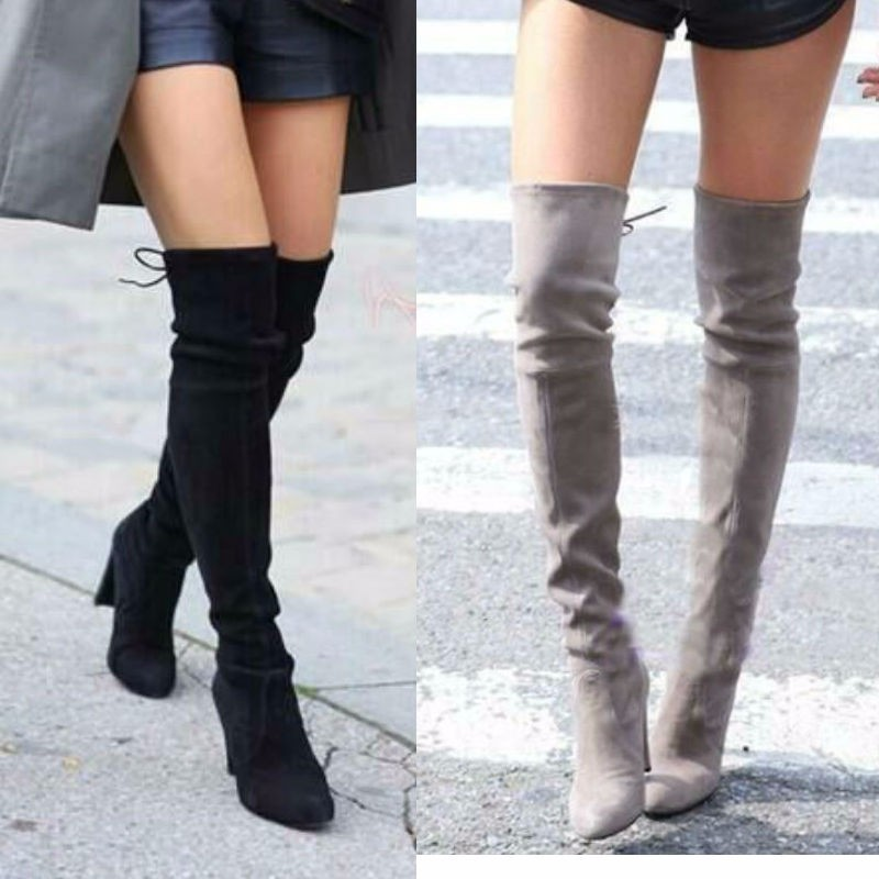 knee sexy women high in boots
