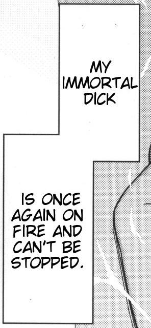 on fire dick is my