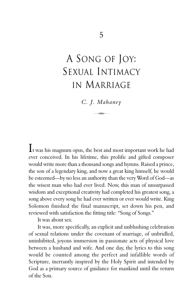 the sexual joy marriage