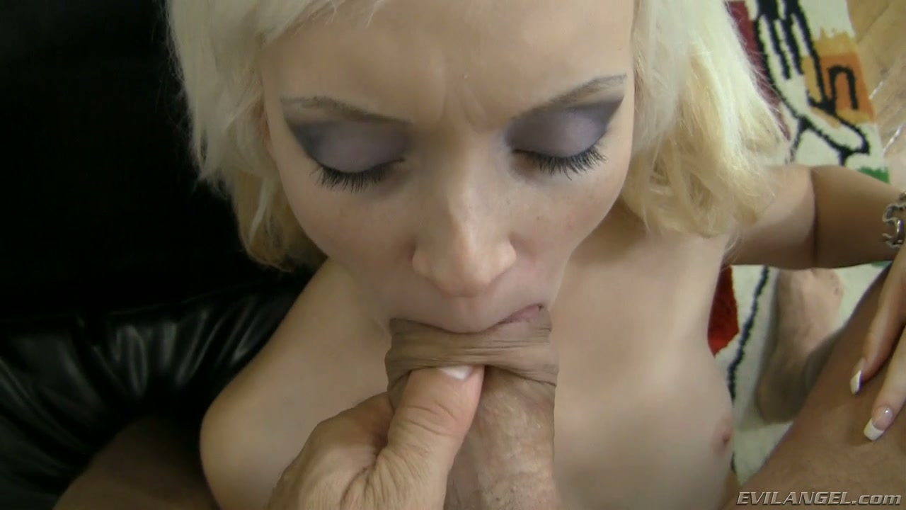 nasty with stockings blow job