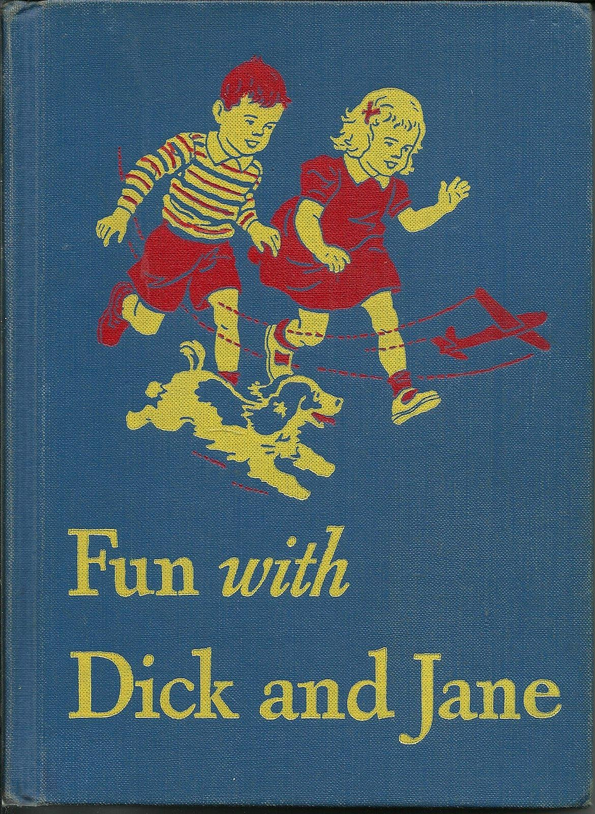 dick jane series book and