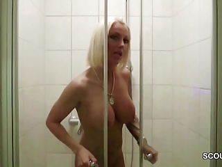 and son in mom off shower porn