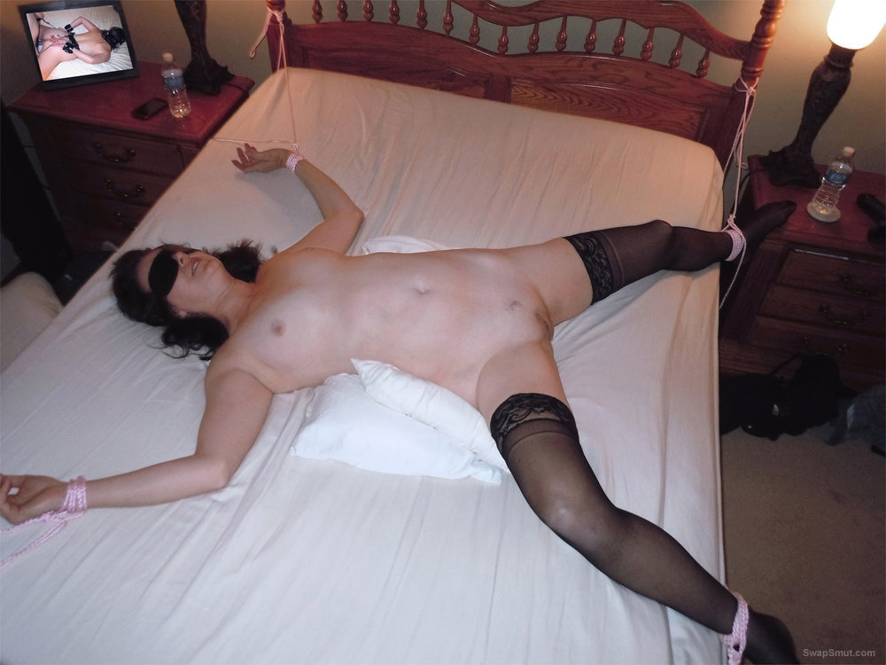 milf eagle tied spread