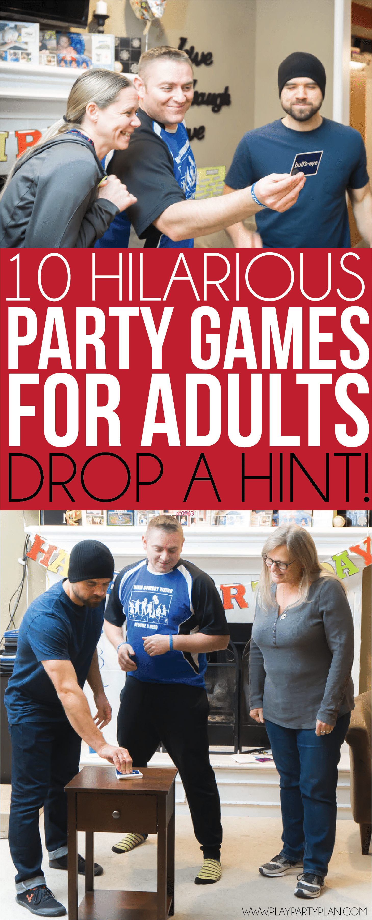 for adult games partys