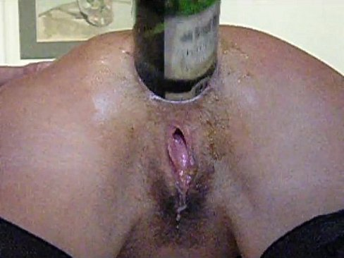 insertion anal bottle