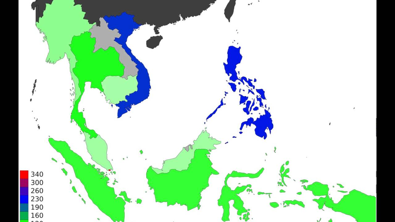 south population east asian