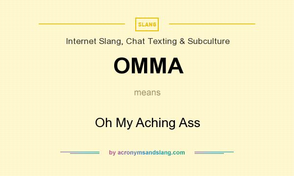 meaning ass of my